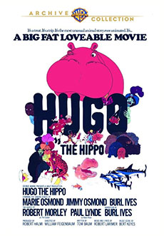 Hugo The Hippo DVD